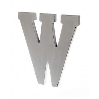 letra W grande