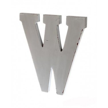 letter W big