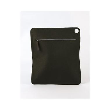 Mesh bag L Kuvert black