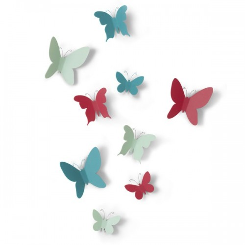 Set mariposas colores