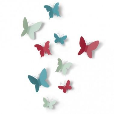 Set mariposas colores