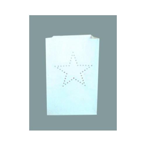 estrella bolsa papel
