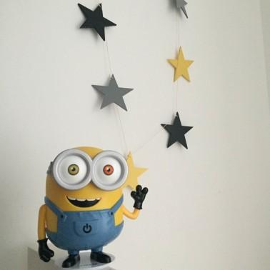 guirnalda estrellas amarilla