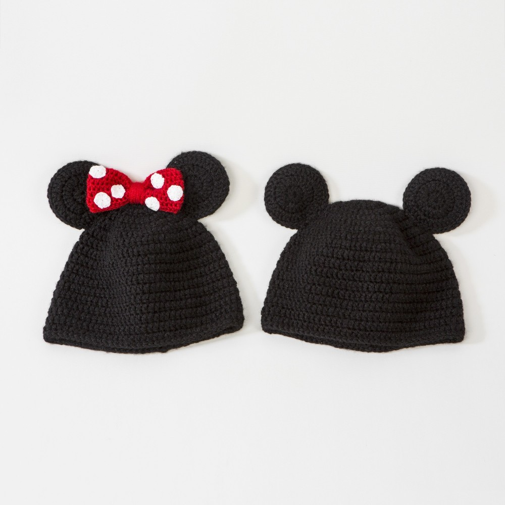 Gorro crochet Mickey yMinnie