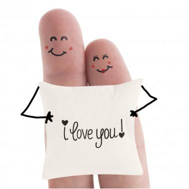 Cojín I love You