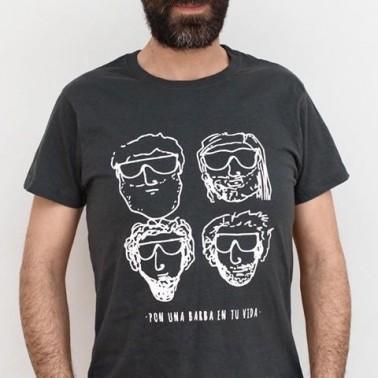 "Camiseta ""barbas"""