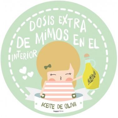 Happy crema Aceite de oliva