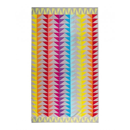 Block beach towel