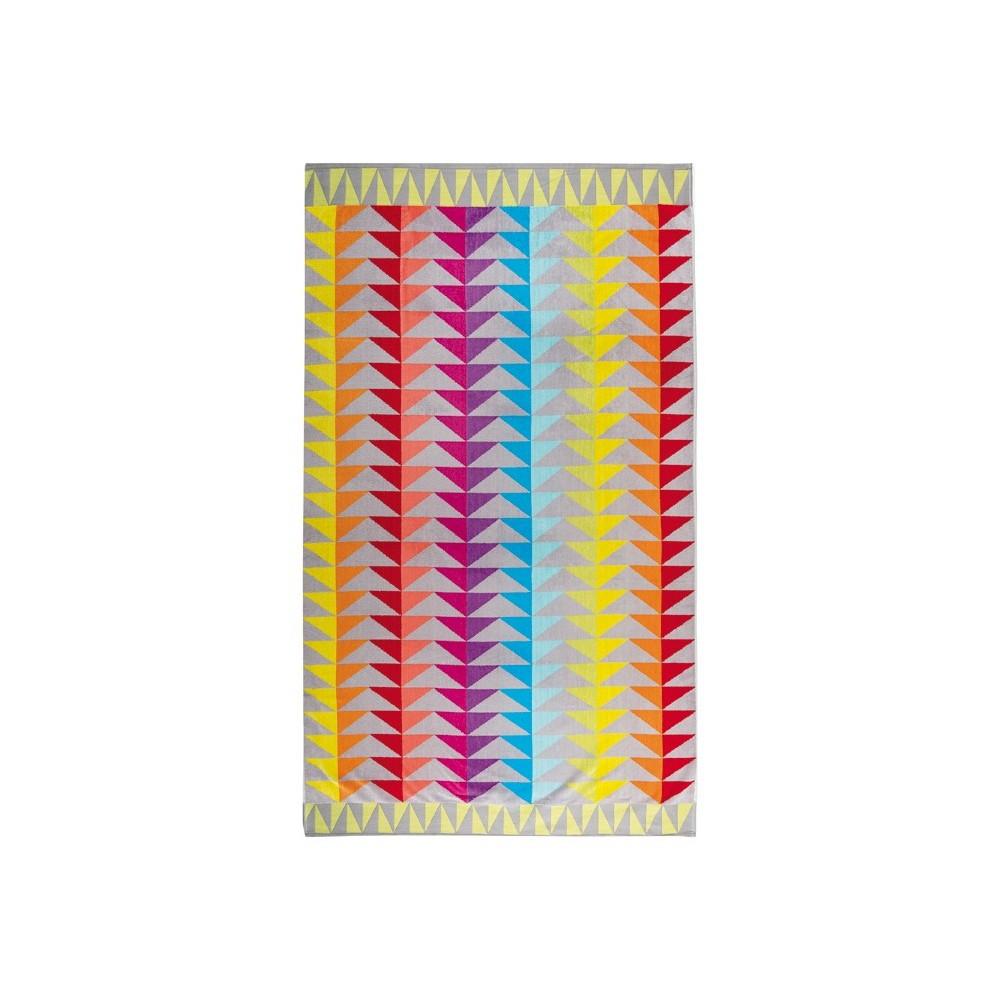 Block beach towel