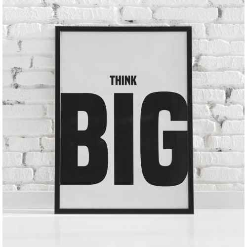 Póster Think Big