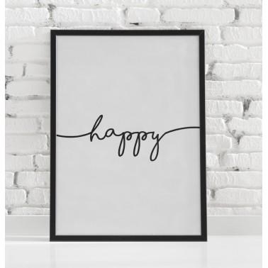 Póster Happy