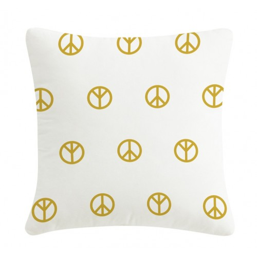 Gold pillow Peace