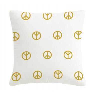 Gold pillow Peace