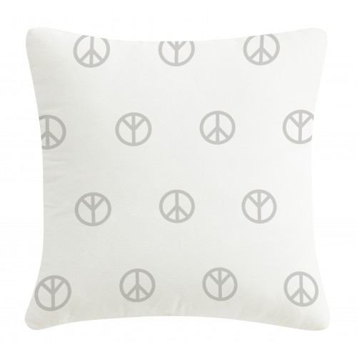 Silver pillow Peace