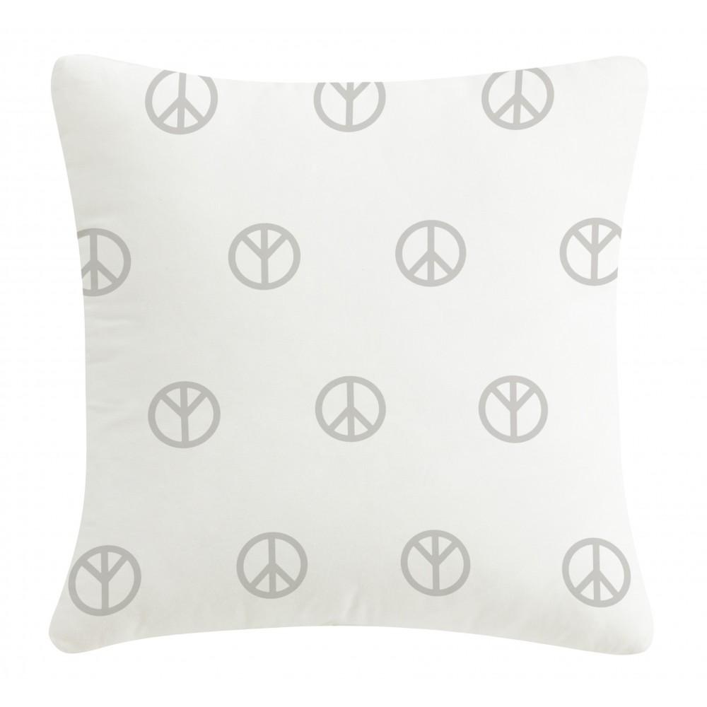 Silver pillow Peace
