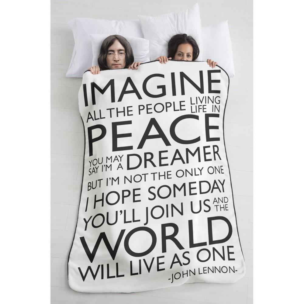 Manta sofá Imagine negro
