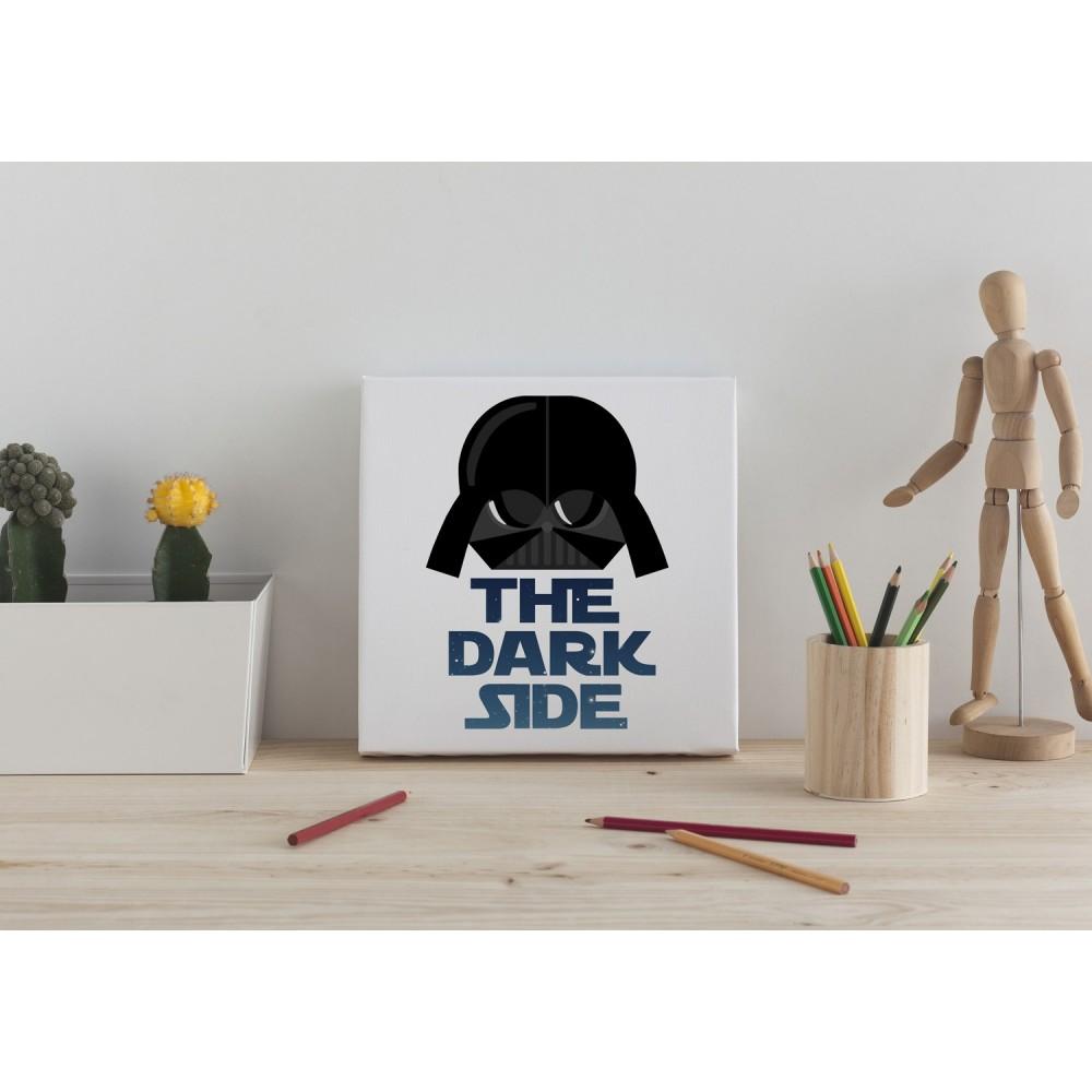 """Lienzo """"The dark side"""""""
