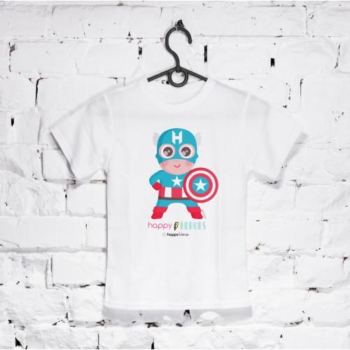 camiseta niño Capitán
