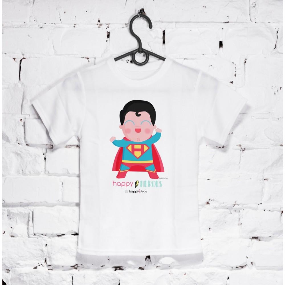 camiseta niño Superman
