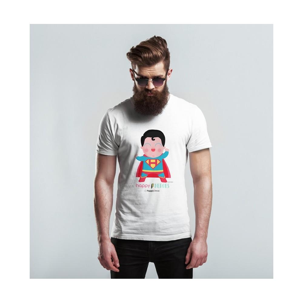 camiseta adulto Superman