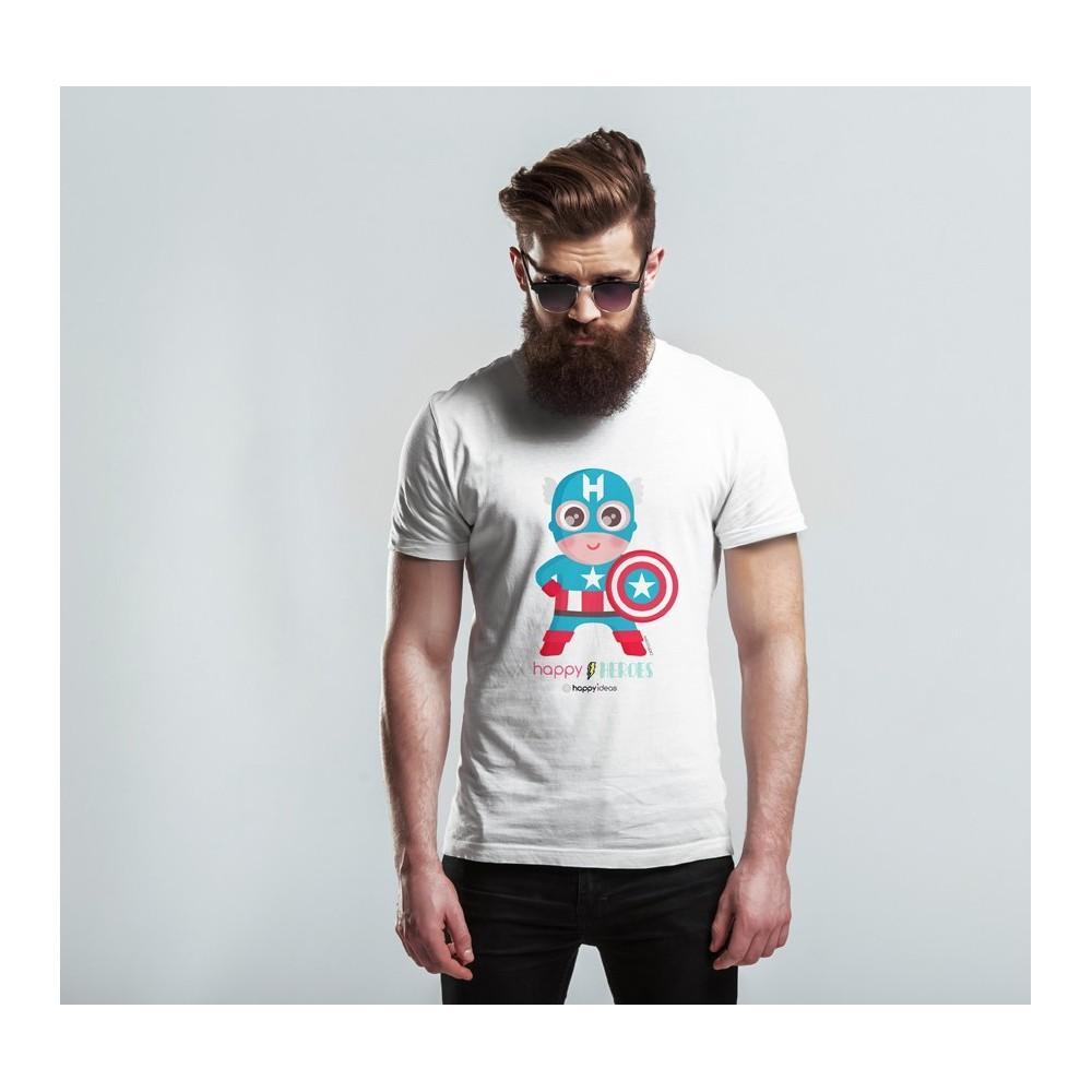 Man t-shirt Capitan