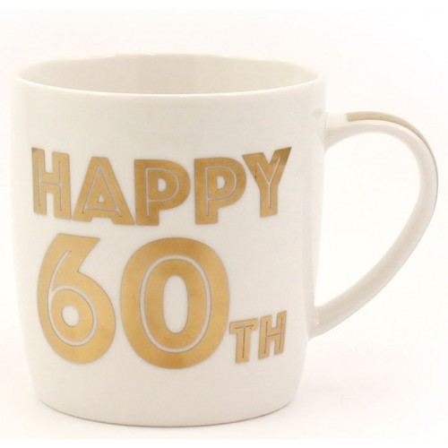 Happy 60th mug