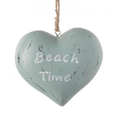 Colgador corazón Beach Time
