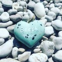 Hanging beach time heart