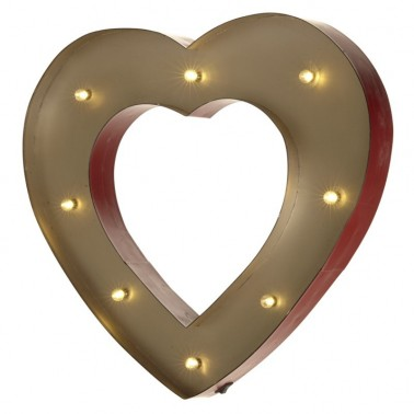 Corazón Led