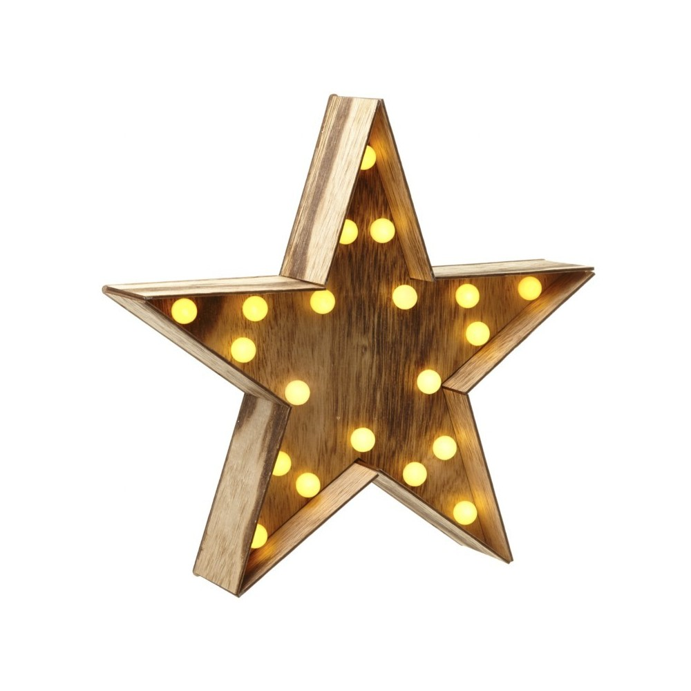 Star with leds
