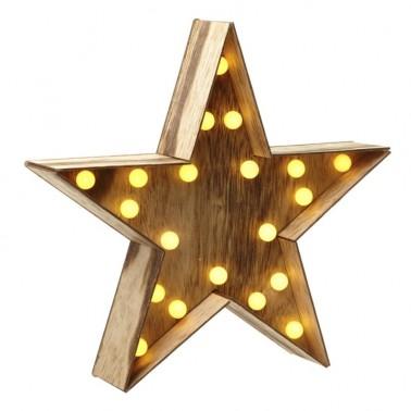 Estrella con Led