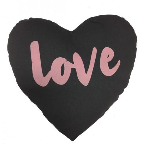 Cojín LOVE corazón