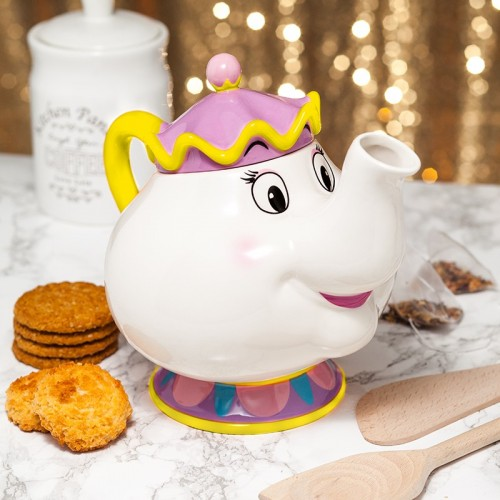 Tetera Mrs.Potts La Bella y la Bestia