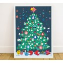 Póster pegatinas Árbol de Navidad