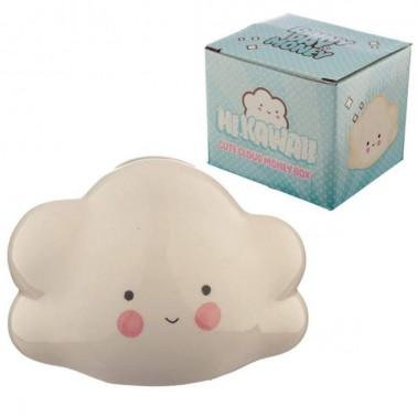 Hucha cerámica nube