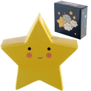 Hucha cerámica estrella