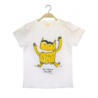 Camiseta amarilla Monstruo de Colores