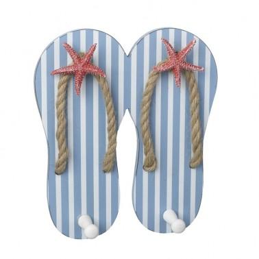perchero playa flip flops