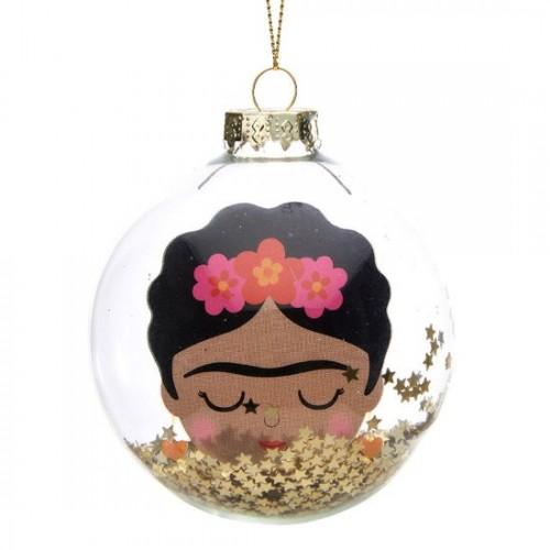 Bola Navidad Frida
