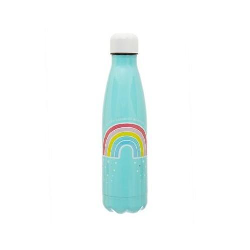 Botella agua termo Arcoíris