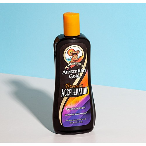 Accelerator Dark tanning with bronzer