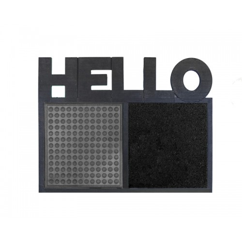 Disinfectant Hello mat door grey
