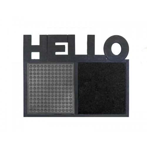 Disinfectant Hello mat door grey