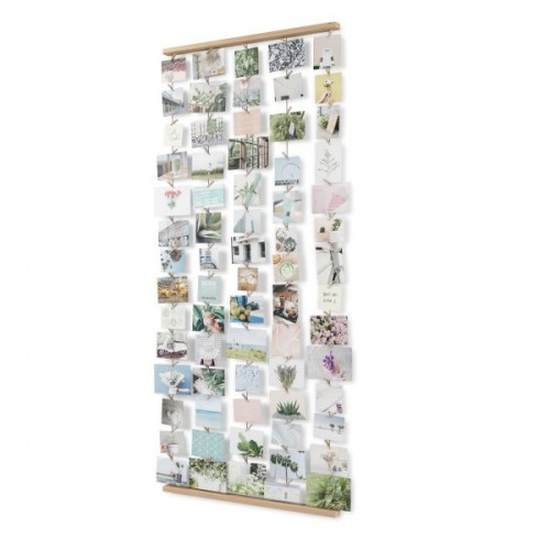 Colgador de fotos XL madera