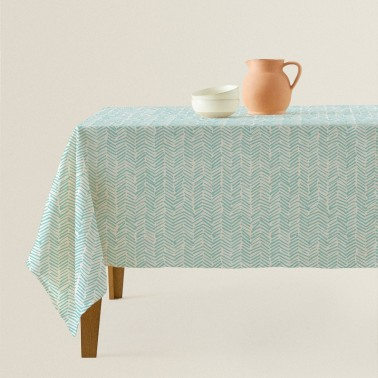 Stars colorful tablecloth