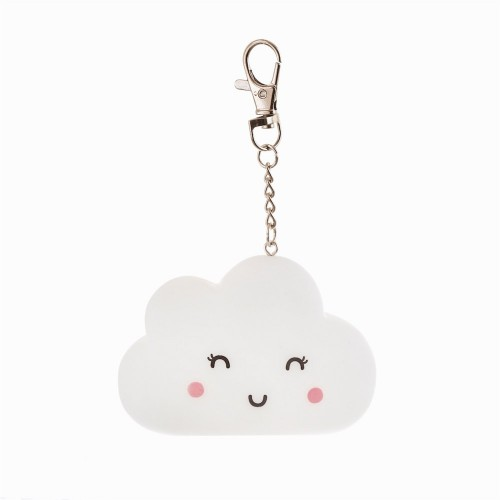 HAPPY CLOUD LIGHT UP KEYRING