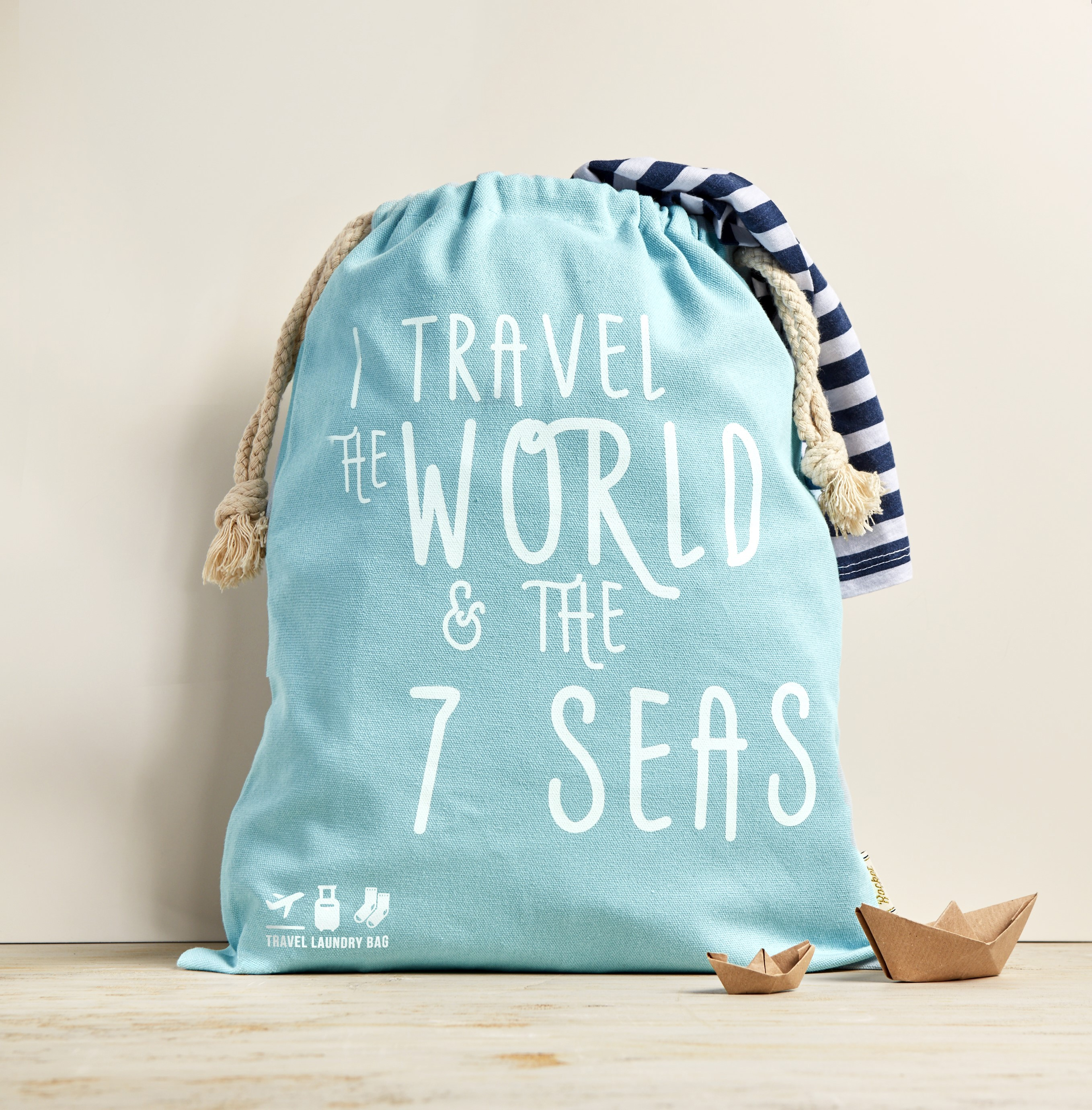 I Travel the World - LAUNDRY BAG